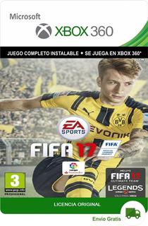 Fifa 17 Xbox 360 Original Digital Licencia