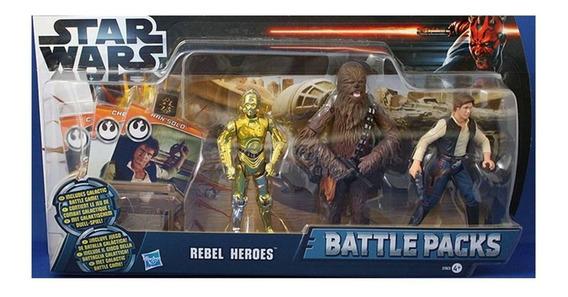 Battle Packs Star Wars Heroes Rebeldes Nuevo Sellado Vv4