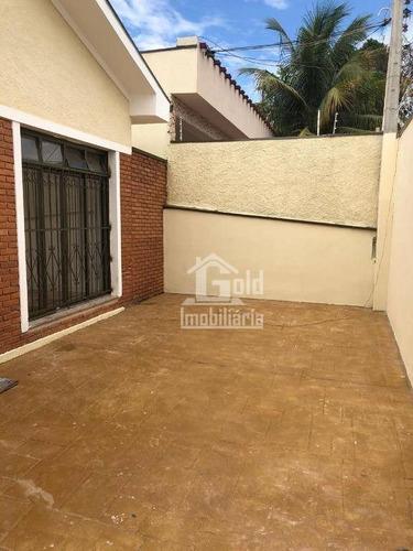 Imagem 1 de 12 de Casa Com 3 Dormitórios Para Alugar, 108 M² Por R$ 2.100,00/mês - Campos Elíseos - Ribeirão Preto/sp - Ca0835