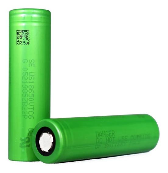 03 Baterias 18650 Sony Vtc6 3000mah 30a Alta Descarga Vaper