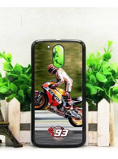 Funda Marc Marquez Moto G4 G5 G6 Plus Carcasa Case