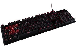 Teclado Gamer Hyperx Mecanico Alloy Fps Cherry Red