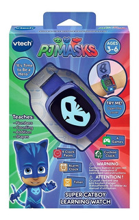 Pj Mask Reloj Vtech Digital Juegos Cat Boy Gatuno 2018