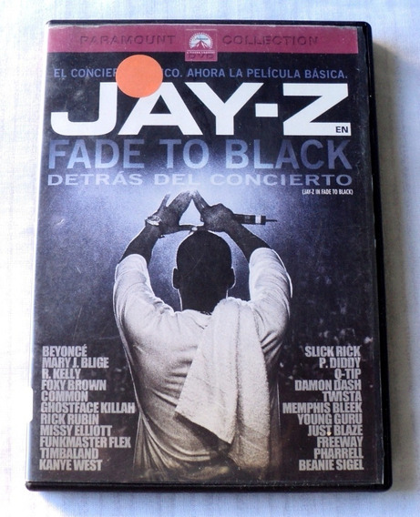 Jay Z Fade To Black Dvd 2005 Paramount Pictures Mexico