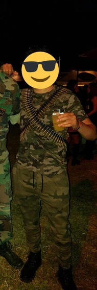 Disfraz Militar Halloween Hombre