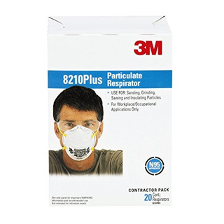 Respirador De Particulas 3m 8210ppb1-a-na Plus, Paquete De 2
