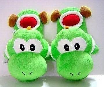 Pantuflas De Yoshi De Súper Mario