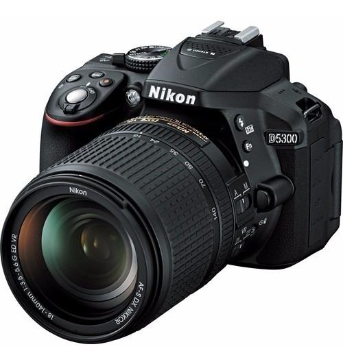 Câmera Digital Nikon Dslr D5300 24.2 Mp 18-140mm 12x S/juros