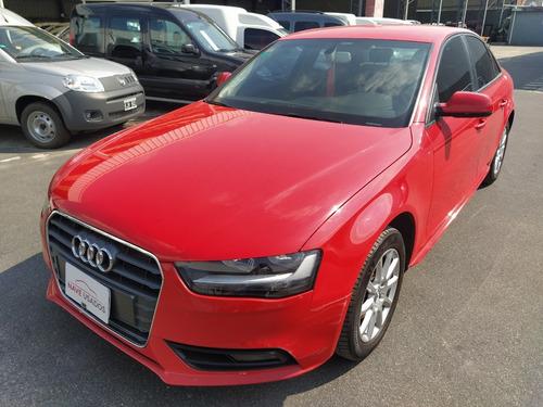 Audi A4 1.8 Tfsi Ambition 2013 Rojo Nid