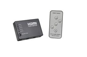 Switch Hdmi 5 Portas Splitter Full Hd + Controle Remoto