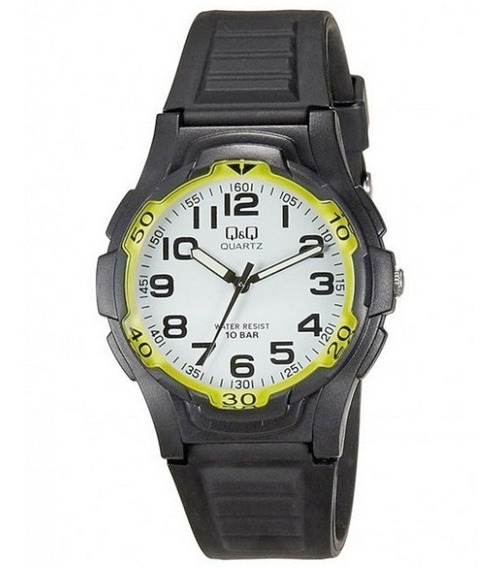 Relógio Mariner Q&q Maq Citizen Wr100 41mm Vp84j009y Masculi