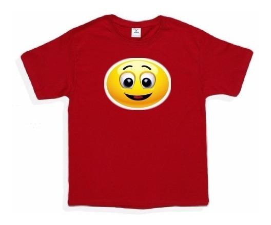 Playeras Personalizada Fiesta Infantil Cumple Emoji