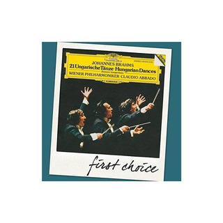 Abbado/wiener Philharmoniker First Choice Brahms 21 Hungaria