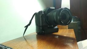 Câmera Canon T1i + Grip + Lente 18-135mm + Kit Básico.