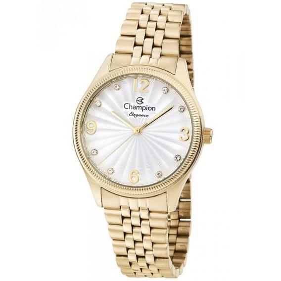 Relógio Champion Feminino Dourado Cn25789h