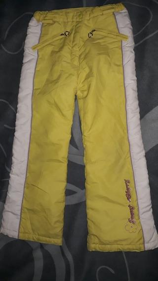 Pantalón De Nieve Talle 10 Nena