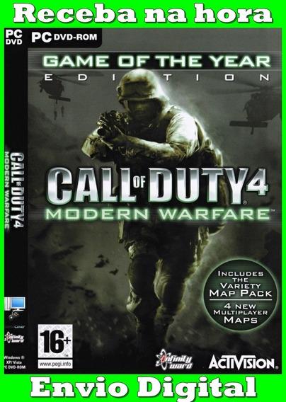 Call Of Duty 4 Modern Warfare Pc Frete Gratis Envio Imediato