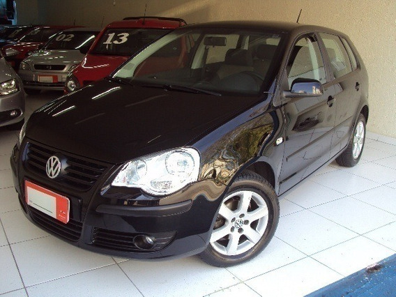 Volkswagen Polo Hatch 1.6 Preto 8v Flex 4p Manual 2008
