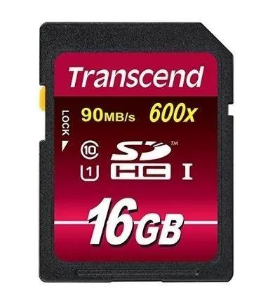 Cartão Memória Sdhc 16gb Ultimate 600x Ful Hd Original
