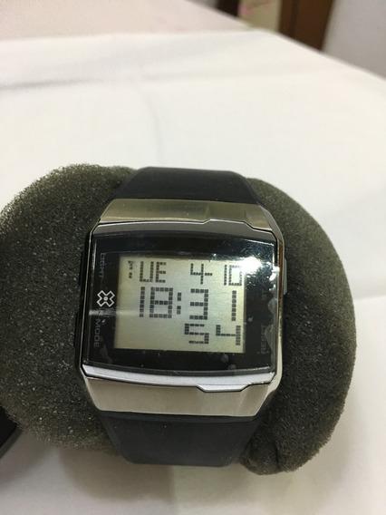 Relógio De Pulso X-games D070 Preto Masculino 10atm