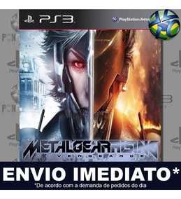 Metal Gear Rising Revengeance Ps3 Mídia Digital Psn Prmoção