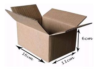 Caixa Papelão Correio 16x11x6- 400