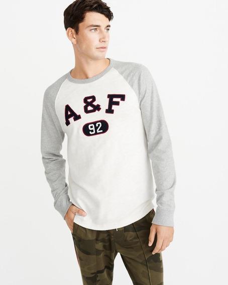 Camiseta Abercrombie Masculina Blusa Frio Agasalho Hollister