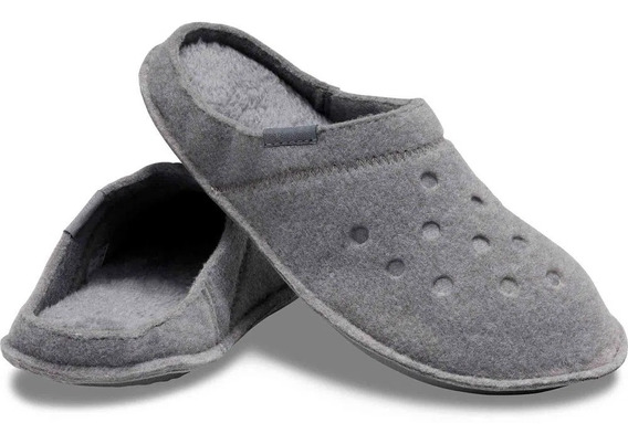 Crocs Classic Slipper -charcoal Charcoal