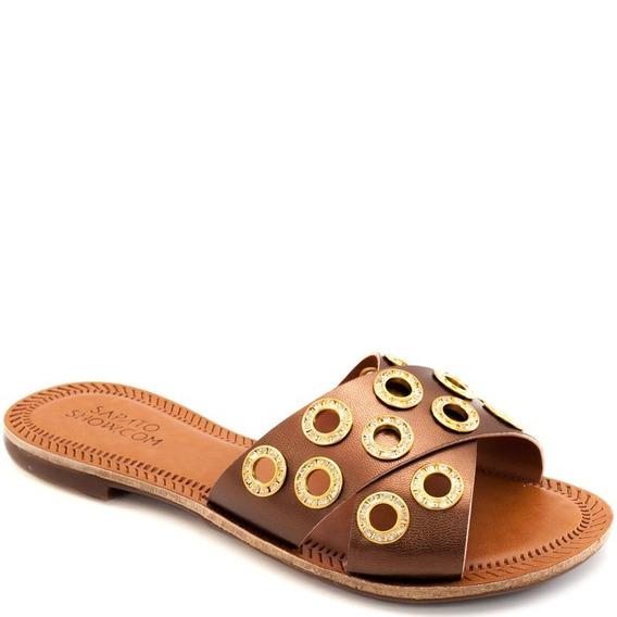 Rasteira Tiras Numeração Especial Sapato Show 432e