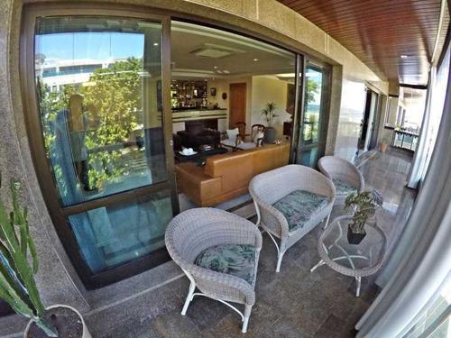 Apartamento Alto Padrão Com 3 Suítes Para Venda No Jardim Oceânico Com Vista Para O Mar. - Pmap30020