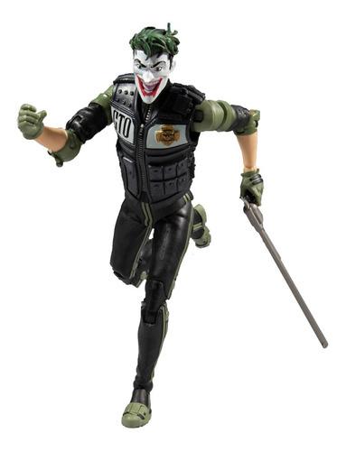 Figura Joker White Knight Mcfarlane Caballero Blanco Dc