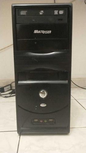 Cpu Pentium 4 Ht Completo Hd 80gb Windows 7