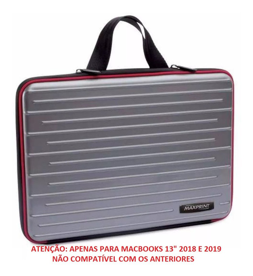 Maleta Case Luva Rígida Macbook Pro Air 13.3 2018 2019 Video