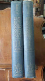 Livro A Manual Of Dogmatic Theology (2 Vol ) Ad. Tanquerey