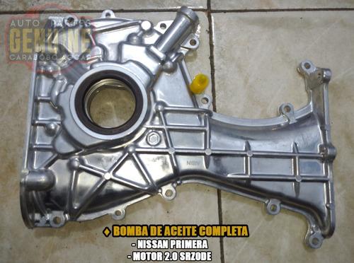 Bomba De Aceite Nissan Primera Motor 2.0 Srz0de