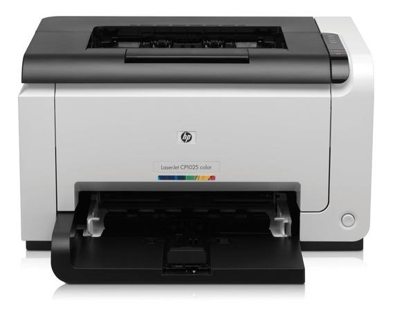 Impressora Color Laserjet Cp1025 Revisada Garantia 90 Dias