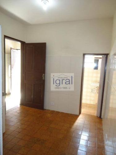 Casa Com 1 Dormitório Para Alugar Por R$ 750,00/mês - Vila Campestre - São Paulo/sp - Ca0806