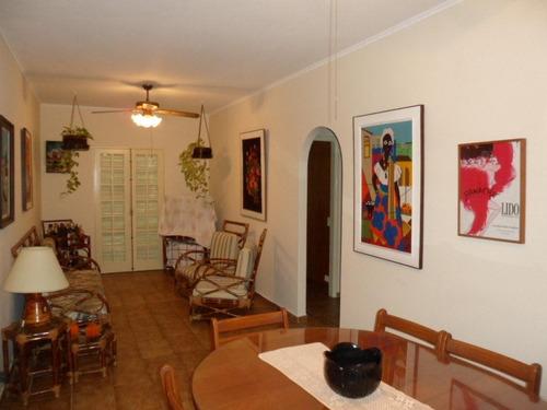 Apartamento Com 2 Dormitórios À Venda, 70 M² Por R$ 350.000,00 - Enseada - Guarujá/sp - Ap1163