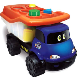 Brinquedo De Encaixe Educativo Para Meninos Big Truck