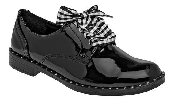 Zapato Casual Mujer Negro Charol T83877