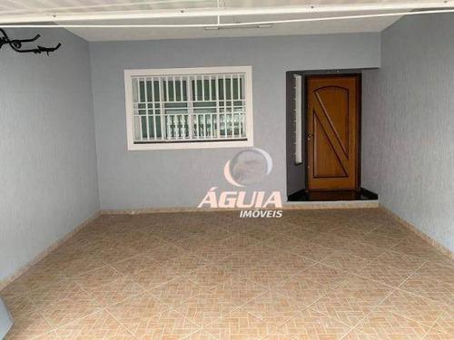 Imagem 1 de 19 de Sobrado Com 3 Dormitórios À Venda, 153 M² Por R$ 639.000,00 - Vila Camilópolis - Santo André/sp - So1495