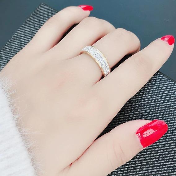 Joyeria En Acero Inoxidable Anillo Diamantes Churumbela