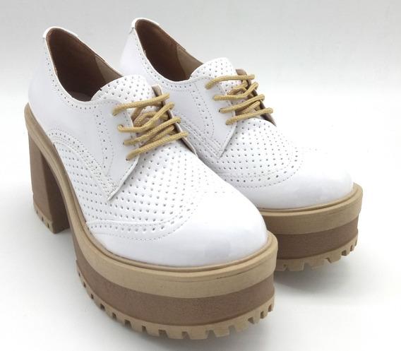 Zapato Plataforma Zapatos Mujer Savage 2019 Taco Mr-116