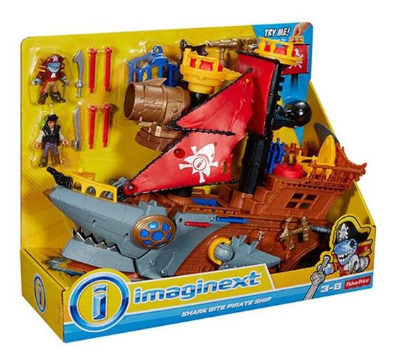 Imaginext Navio Pirata Tubarão - Mattel