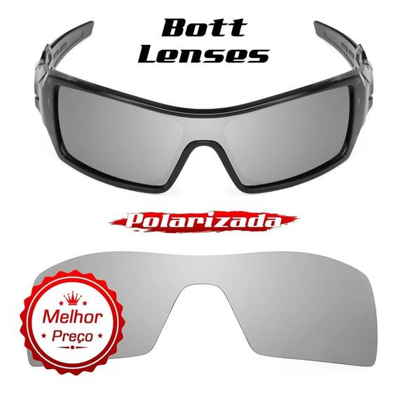 Lente Óculos Oil Rig Titanium Polarizada - Bott Lenses
