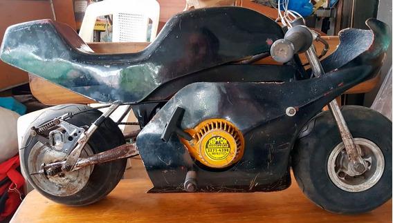 Mini Moto Corrida Gasolina 2 Tempos