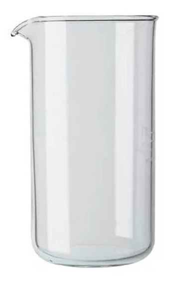 Vaso Repuesto Cafetera Bodum Vidrio 8 Pocillos 1 Lt