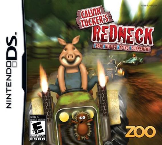 Calvin Tucker´s Redneck Racing - Ds Novo, Mídia Física