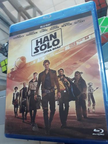 Bluray Star Wars Han Solo Original Nuevo Guerra De Las Galax
