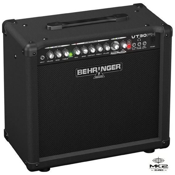 Amplificador Guitarra Behringer Virtube Vt30fx 30w 2 Canales